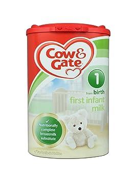 Cow & Gate 1 Primera Leche infantil de recién nacido - 4 x 900gm ...
