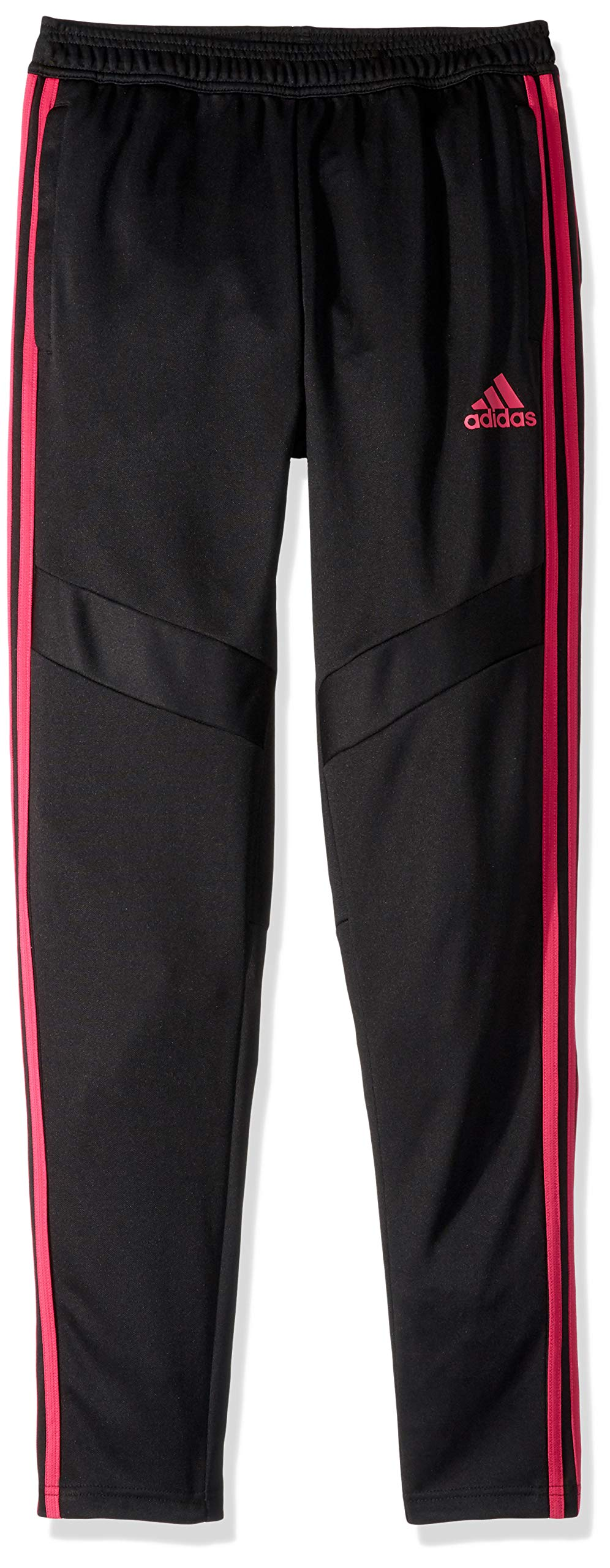 adidas Youth Tiro19 Youth Training Pants, Black/Real Magenta, XX-Small by adidas (Image #1)