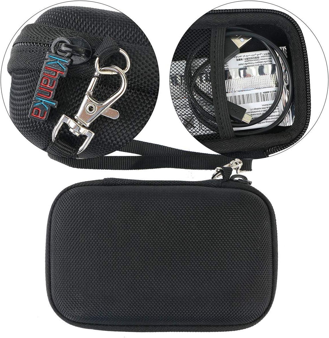 Khanka EVA Difficile Caso Viaggiare trasportare sacchetto per HP Sprocket New Edition Noir Stampante Istantanea Fotografica Portatile