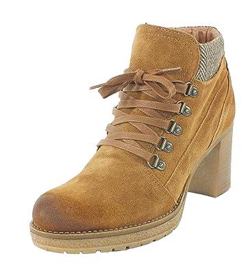 Cognac Stiefelette Tozzi Marco Leder Boots 7044 txQCrdsh