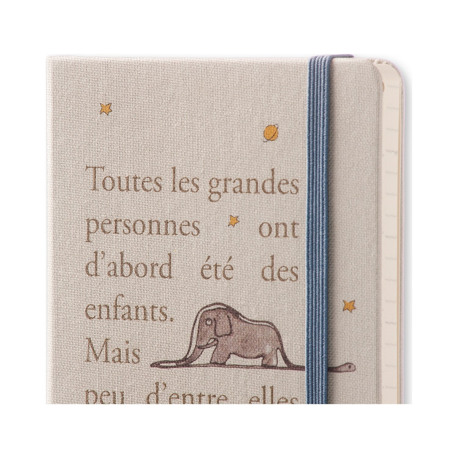 PHERAL FIT Moleskine 2017 Le Petit Prince Limited Edition Weekly Notebook, 12M, Pocket, Light Grey, Hard Cover (3.5 x 5.5)