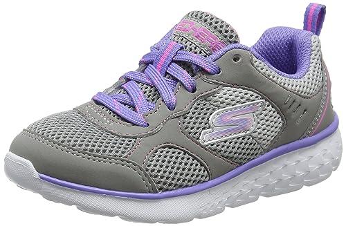 Skechers Go Run 400, Entrenadores para Niñas: Amazon.es: Zapatos y complementos