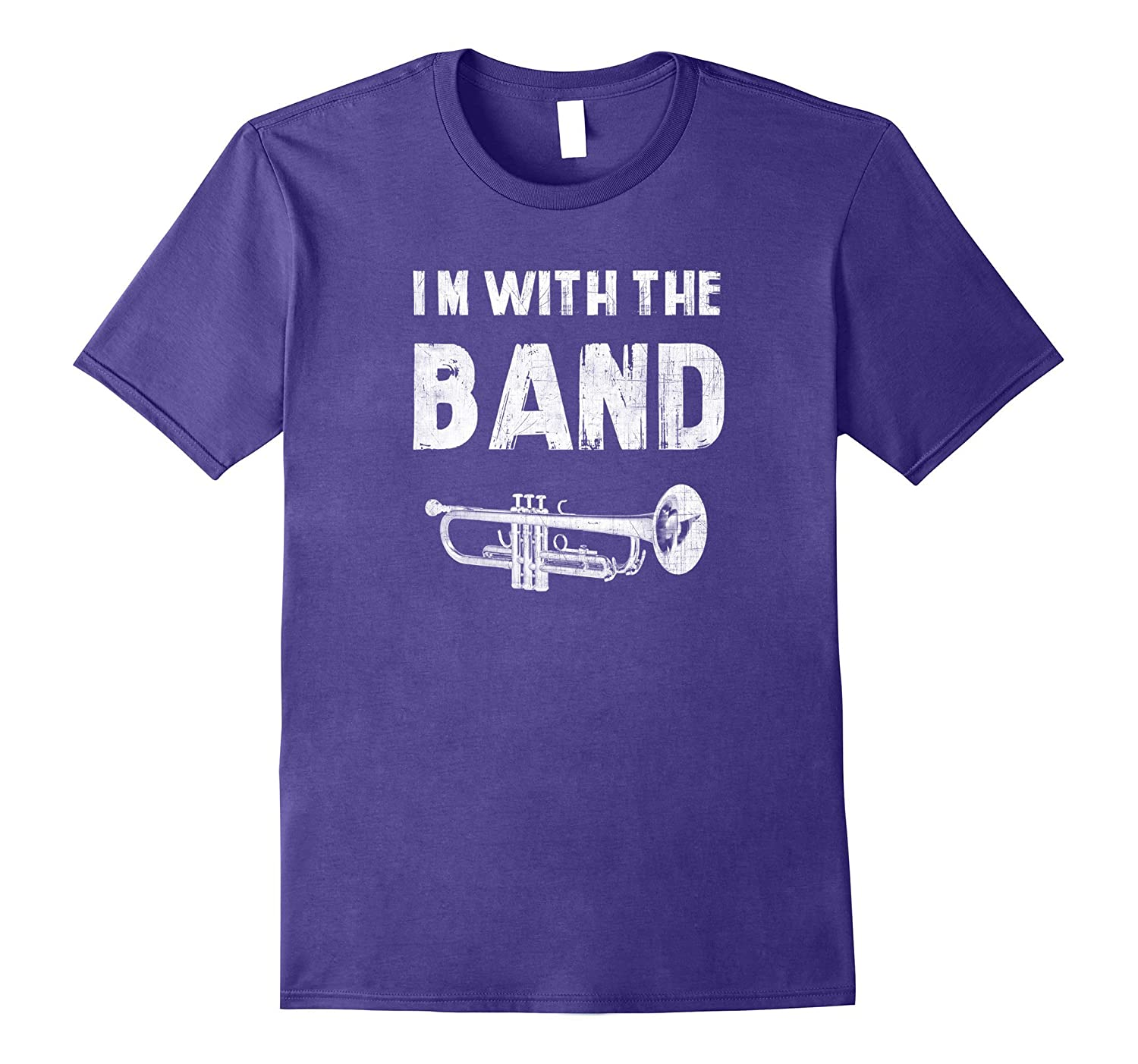 I'm with the Band Trumpet Instrument T-Shirt-CL