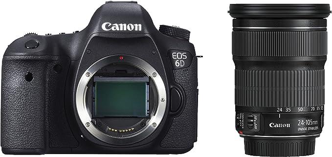 Canon EOS 6D + EF 24-105mm Juego de cámara SLR 20,2 MP CMOS 5472 x ...