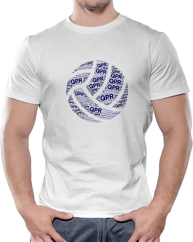 Queens Park Rangers F.C White Cotton T Shirt Custom Design