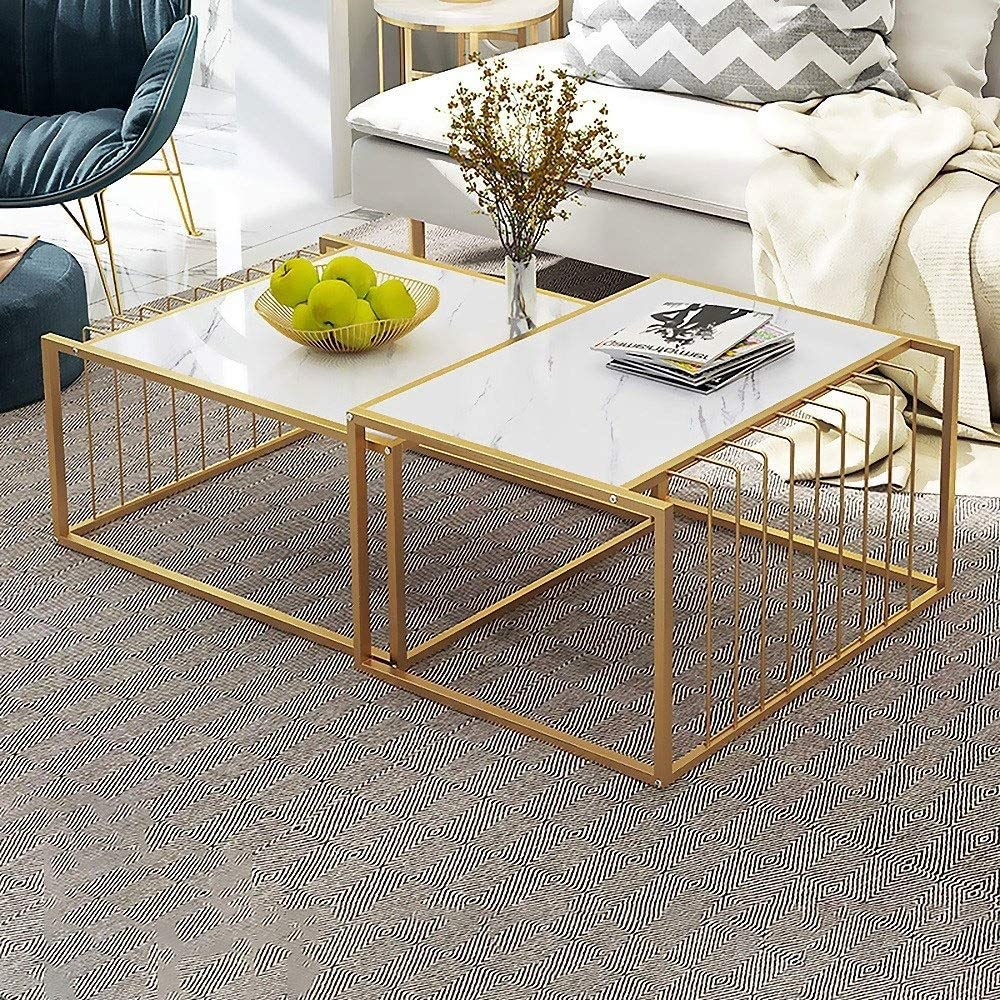 Amazon Com Hoiho Nordic Diy Nesting Tea Table Set Coffee Table