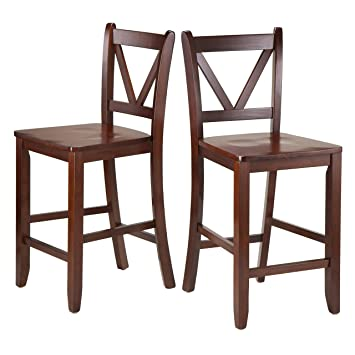 24 counter height swivel bar stools inch low back stool winsome victor piece brown cherry