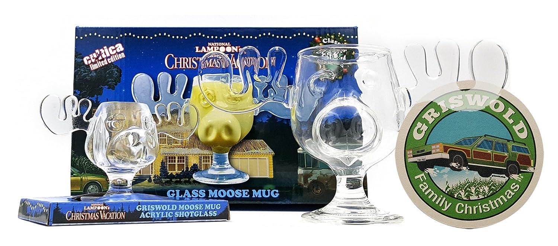 Cultica moose mug, acrylic glass, beautiful shot glass, beer coaster