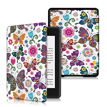 ProElite Designer Smart Flip case Cover for All Amazon Kindle Paperwhite  10th Generation (Butterfly)