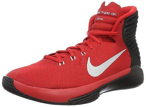 Nike 844787-600, Zapatillas de Baloncesto para Hombre, Rojo (University Red/Reflect Silver/Black), 42 EU: Amazon.es: Zapatos y complementos