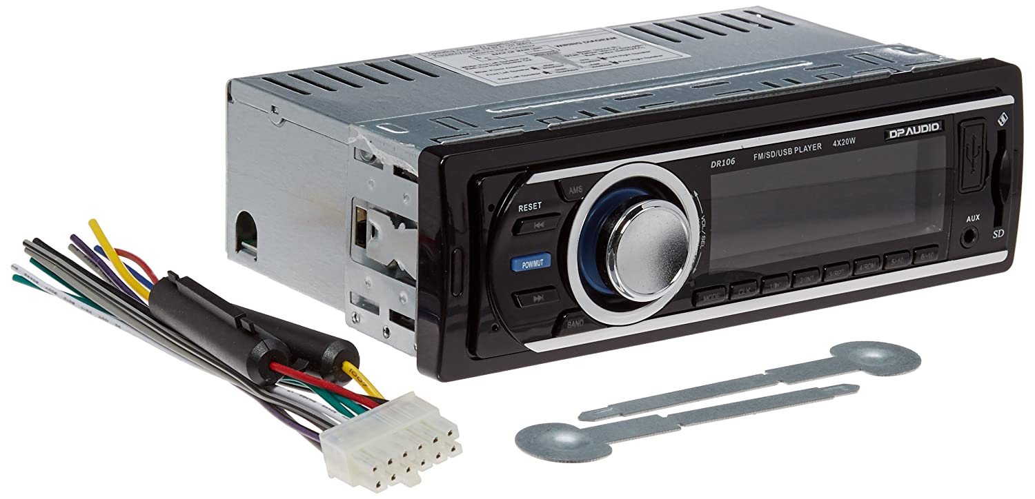 814Yc6g1W7L._SL1500_ amazon com dp audio dr106 fm and mp3 stereo receiver with usb port
