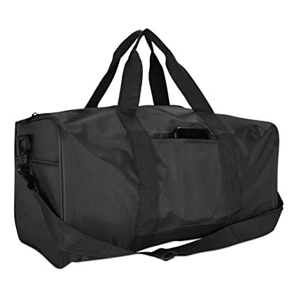 Image Unavailable. Image not available for. Color  DALIX 19 quot  Duffle  Bag Travel Duffel Bags Carry ... 60fa132a33