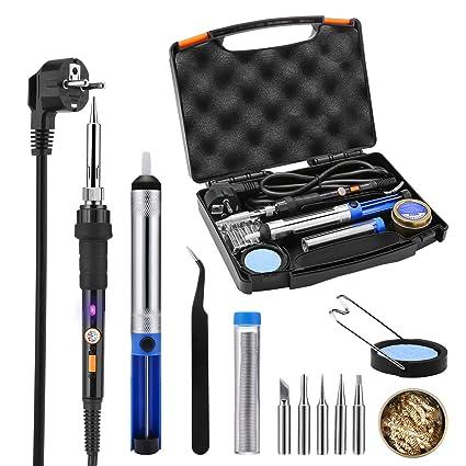 tacklife sky47ac soldador eléctrico 12 pcs/Kit de soldar y desoldar/220 V-