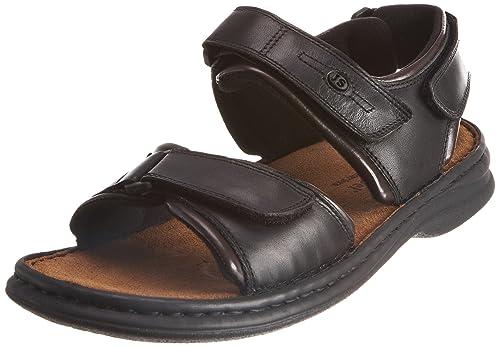Schuhfabrik GmbH Rafe 10104 - Sandalias para hombre, color marrón, talla 41 Josef Seibel