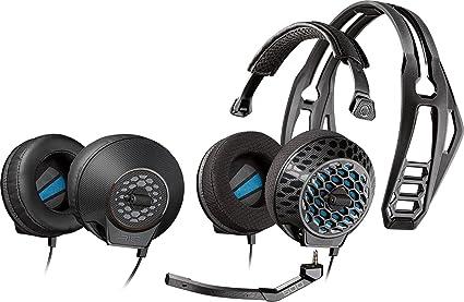 Auriculares de diadema cerrados con micr/ófono Plantronics RIG 500E color negro 14.7 x 17.5 x 4.3 cm