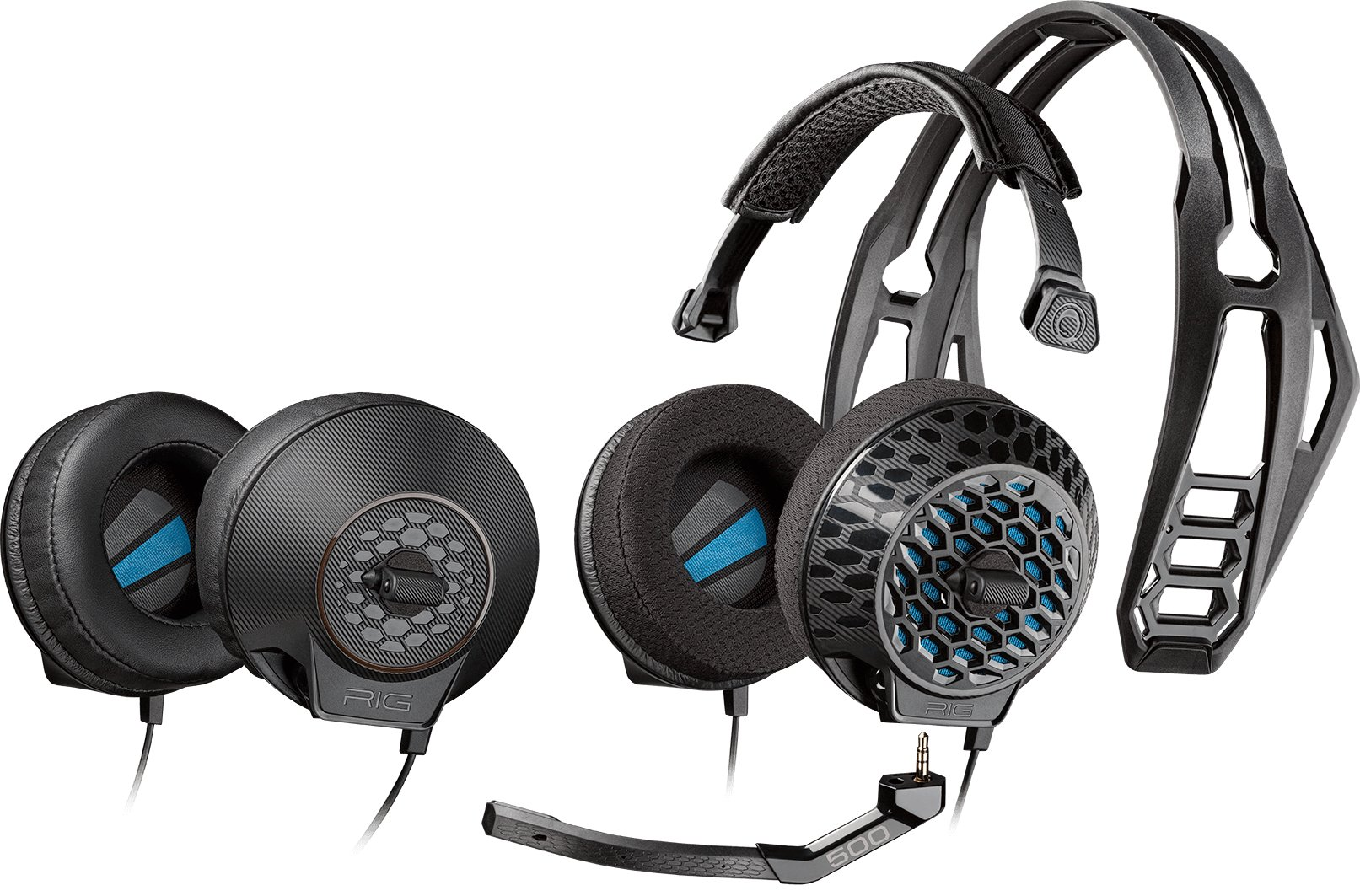 Plantronics RIG 500E Lightweight E-Sports Edition Gaming Headset with Surround Sound by Plantronics