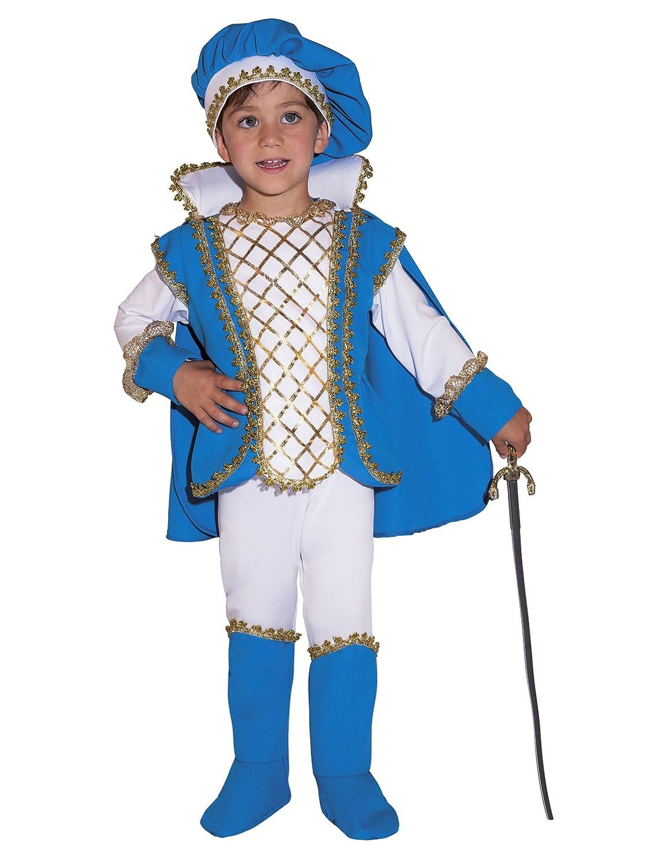 Costume da principe azzurro da bambino 2 3 anni (92 98)