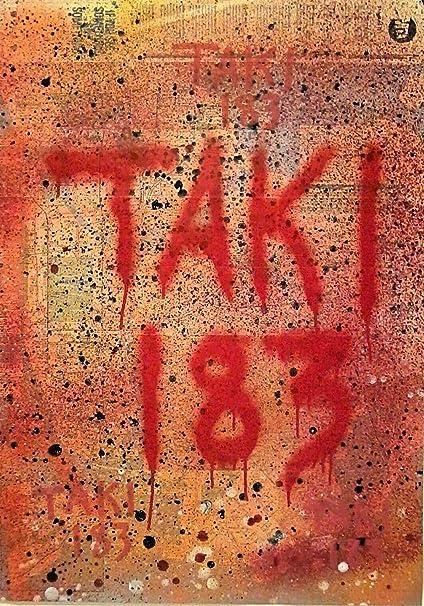 M Subway Map Nyc.Amazon Com Standardpictureframes Nyc Graffiti Legend Taki 183