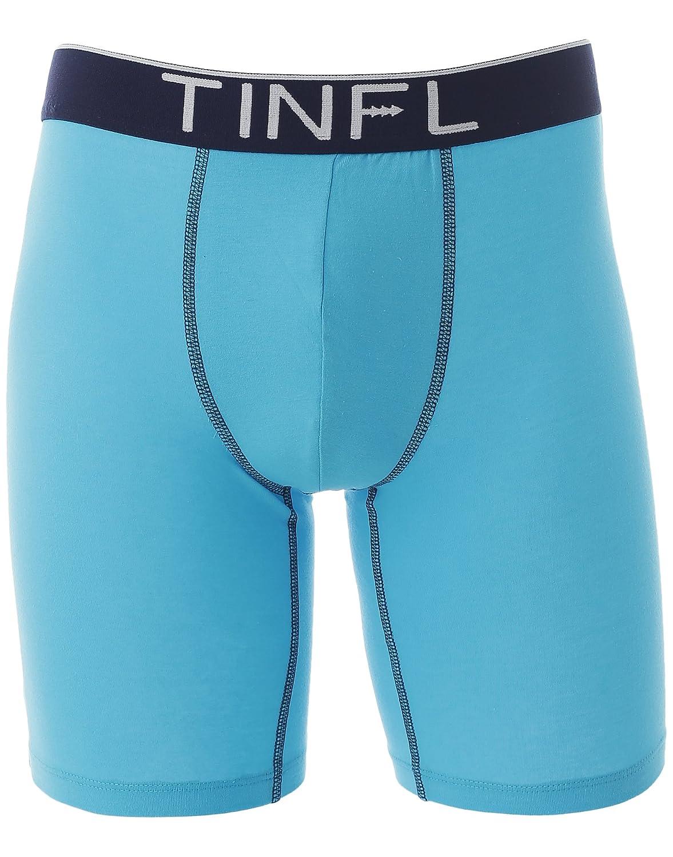 TINFL Big Boys Long Leg Boxer Briefs 3-Pack Underwear Set HD-007 M