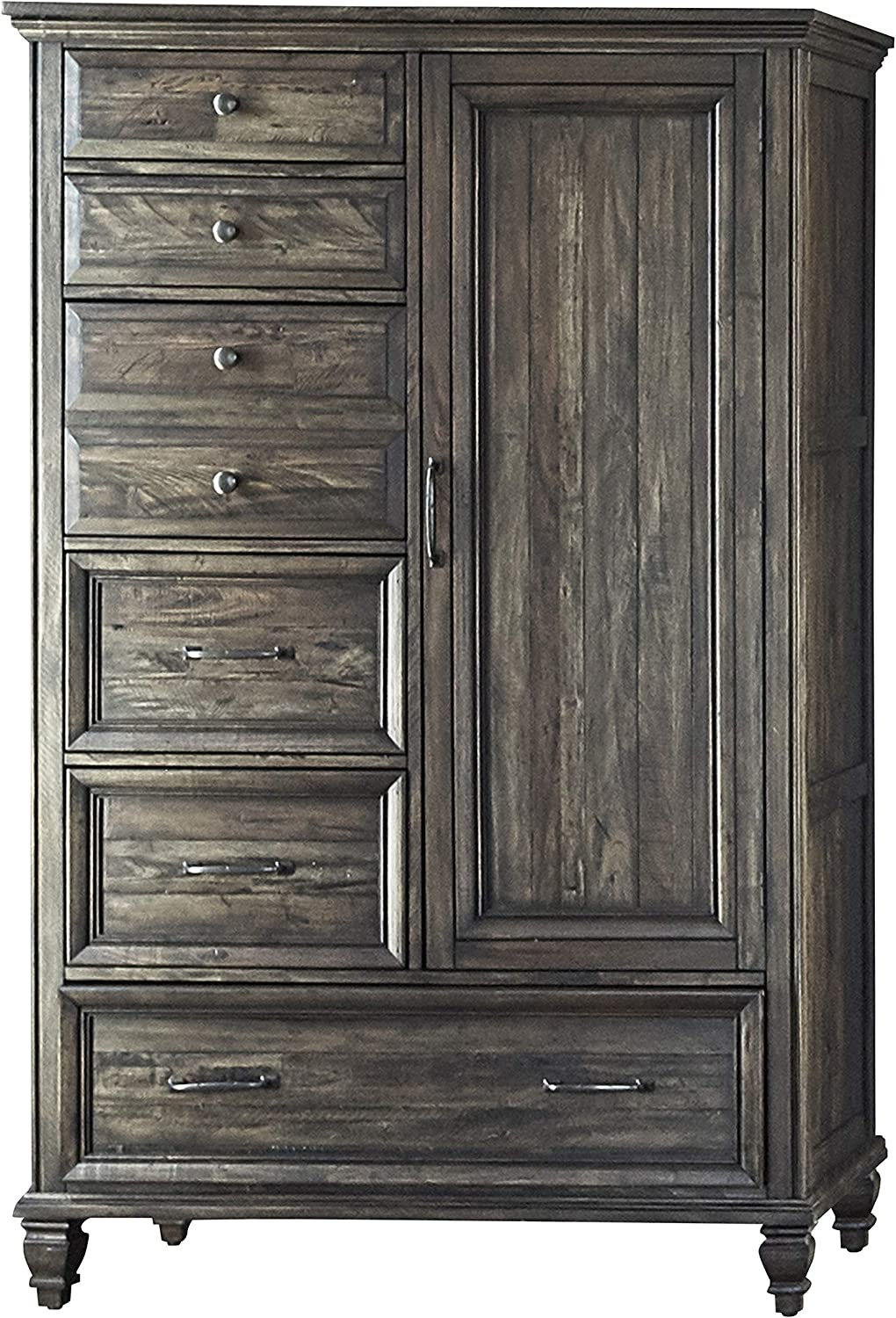 Coaster Home Furnishings Avenue 6-Drawer Door Weathered Burnished Brown Chest