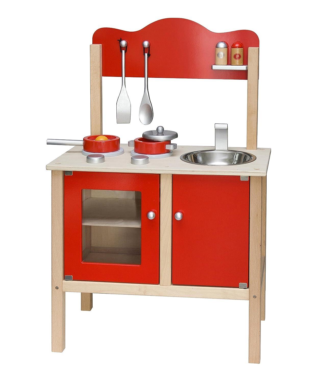 Viga Toys - 50384 - Noble Kitchen - Red 2043624