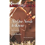 No One Needs to Know (Made in Montana Book 5)