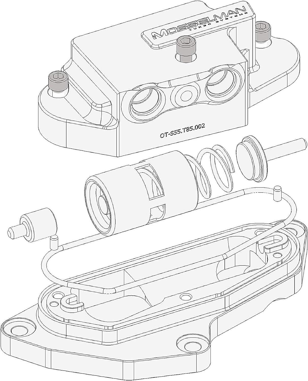 Mosselman MSL Oil Thermostat Upgrade N55