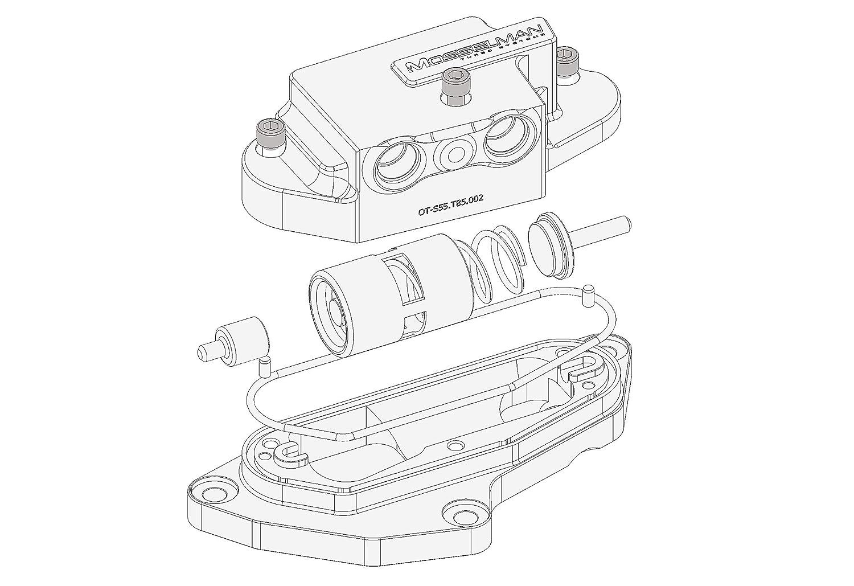 Mosselman MSL olio termostato laptop N55