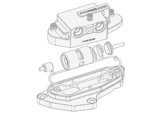 Mosselman Msl Oil Thermostat Upgrade N54 Amazon Co Uk Car Motorbike