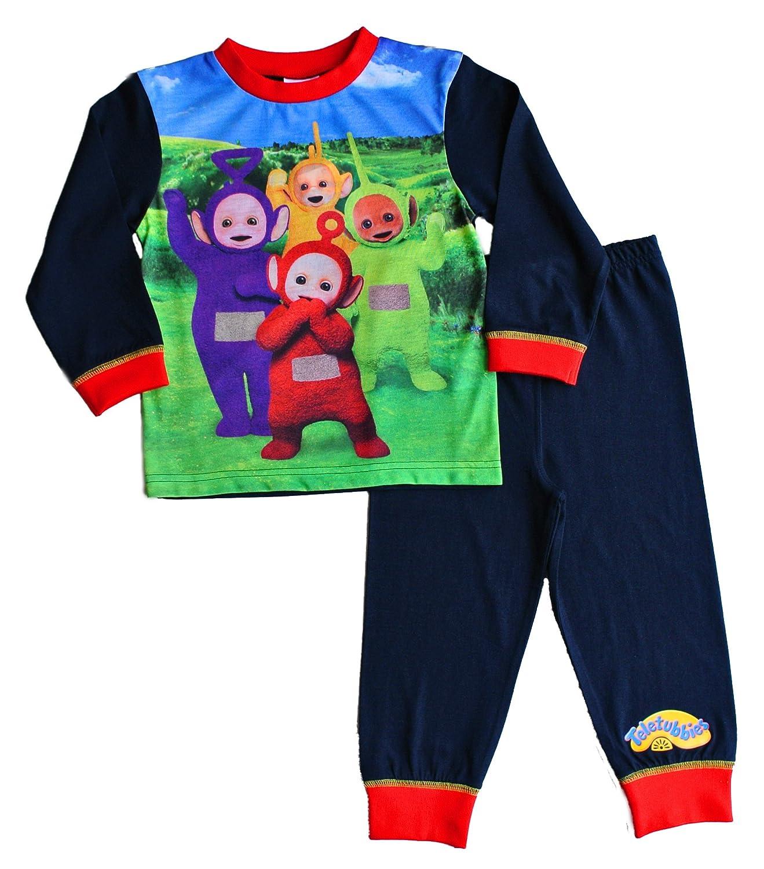 Unbekannt ThePyjamaFactory Jungen Schlafanzug blau blau Gr. 18-24 Monate, blau