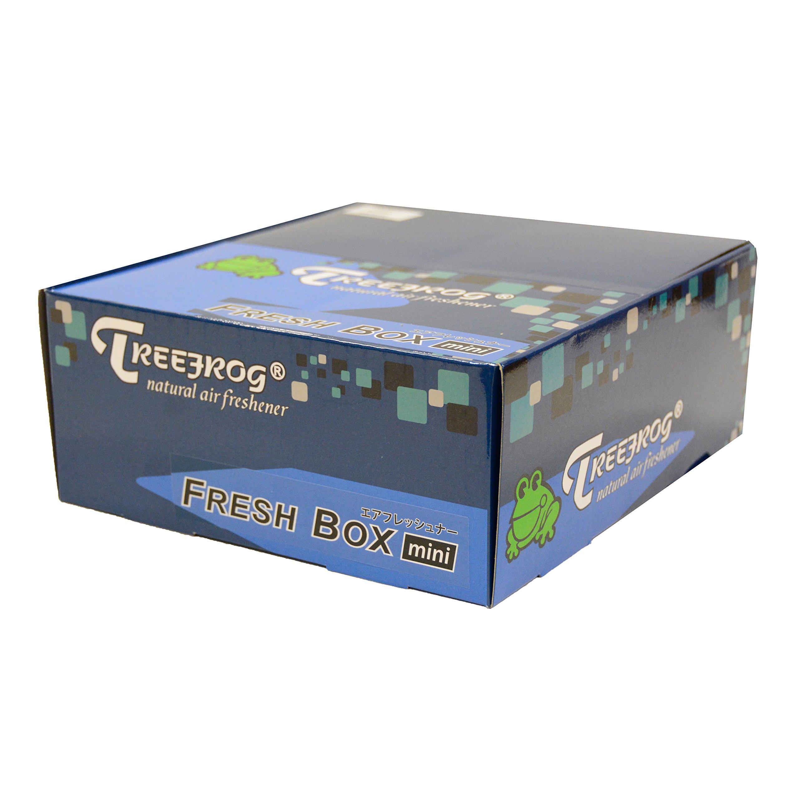 9 Packs TreeFrog FRESH BOX MINI (aka Xtreme Fresh Mini) Lemon Squash Scent Premium JDM Air Freshener by Treefrog Fresh Box Mini (Image #5)