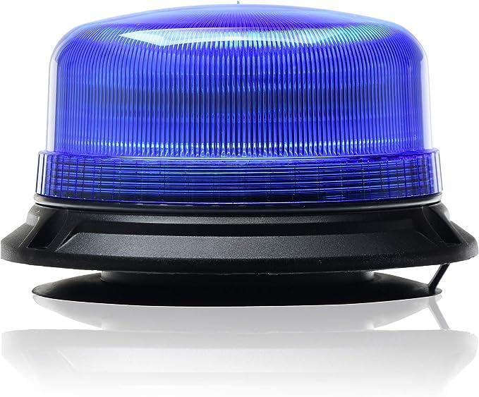 Led Martin Rundumleuchte Xr20 Eco 12v 24v Blau Magnetfuß 3 5m Kabel Für Polizei Feuerwehr Thw Ece R65 Kompakte Bauform Beleuchtung