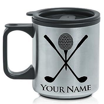Personalizado taza de café de acero inoxidable - Palos de ...