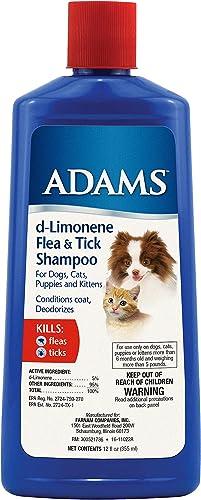 Adams D-Limonene Flea & Tick Shampoo for Dogs
