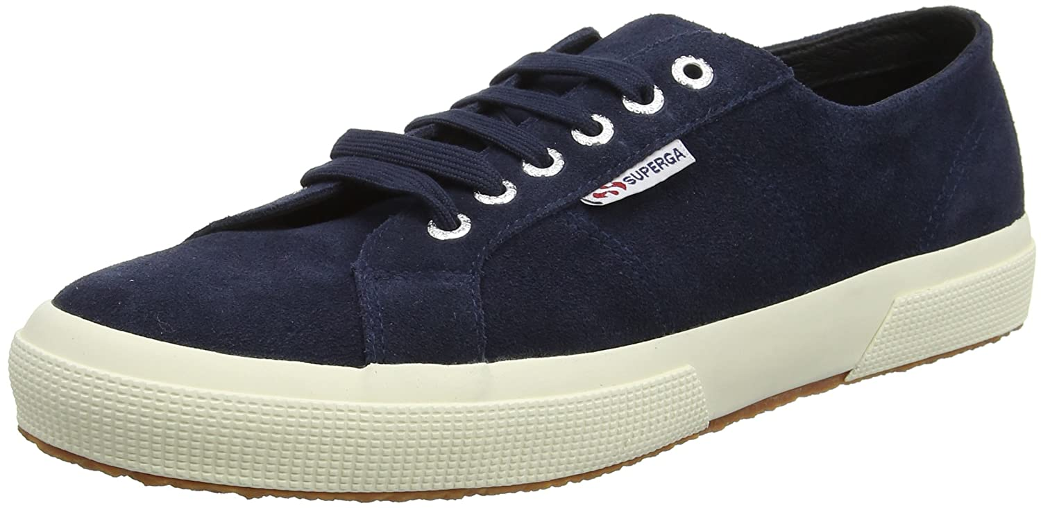 Superga 2750 Sueu, Zapatillas Unisex Adulto 38 EU|Azul (Light Blue 516)