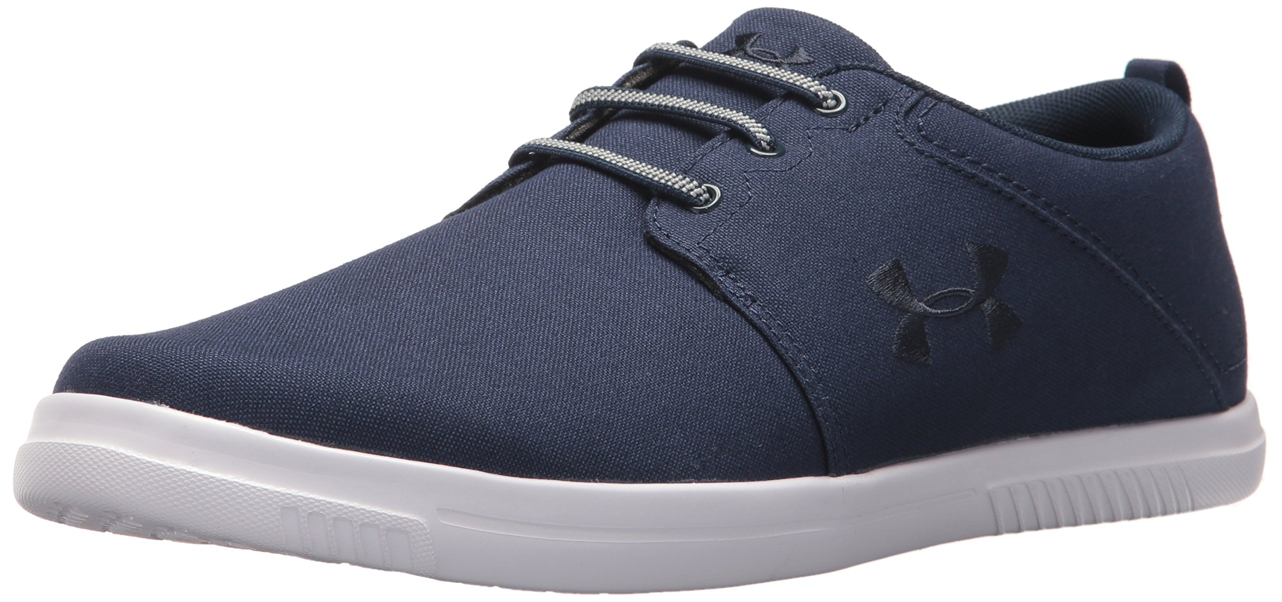 Under Armour Men's Street Encounter IV Heeled Sandal, Academy (402)/Steel-402, 11 by Under Armour