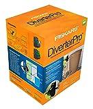 Fiskars Rain Barrel DiverterPro Kit, Black, 59626935
