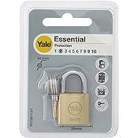 Yale YE1/25/113/1/B Candado de Seguridad de Arco Corto