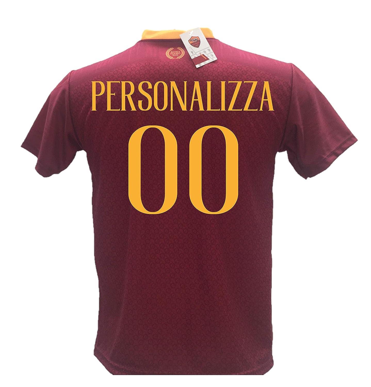 Camiseta de fútbol Roma Personalizable réplica autorizada 2018 ...