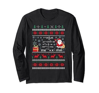 Image result for Christmas Math Formulas Ugly Christmas Sweater Shirt