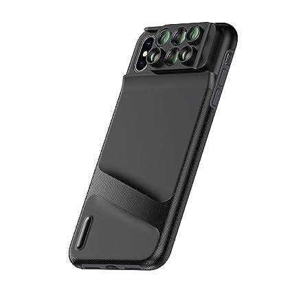 meet 7cad5 a8305 Ztylus Switch 6 MK II Lens Kit for Apple iPhone XS/X: 6 in 1 Dual Optics  Lens System (Fisheye, Telephoto, Wide-Angle, Macro and Super Macro),  Durable ...