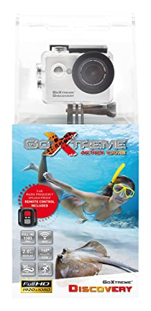 GoXtreme 20136 Discovery Full HD Action Kamera Silber