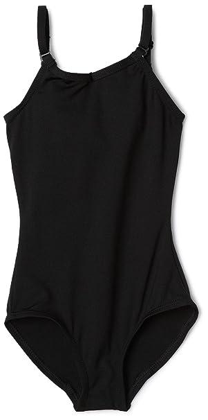 6922c6ac028c2 Capezio Little Girls' Camisole Leotard W/Adjustable Straps,Black,S (4