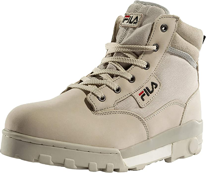 Fila Grunge Mid Sneakers Herren Grau (Feather Grey)