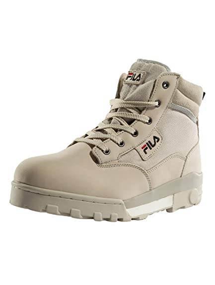 23c82e8e805c Fila Men s Grunge Mid Hi-Top Trainers  Amazon.co.uk  Shoes   Bags