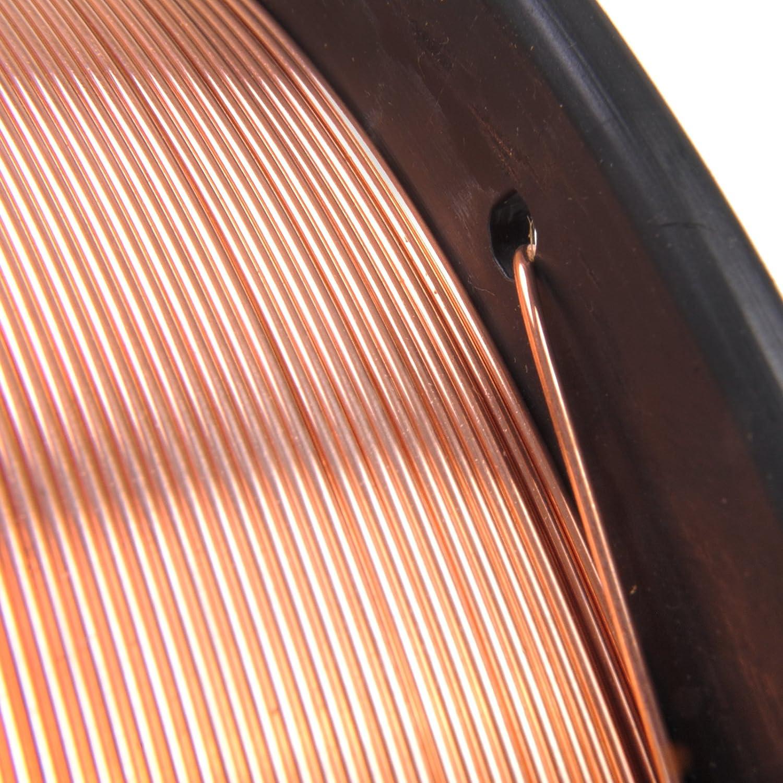5 kg 0,8 mm Stahl Kupfer beschichtet Mig Schweißen Welder Draht ...