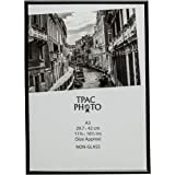 The Photo Album Company A3 29.7 x 42 cm Back Loader Non Glass Certificate/Photo/Picture Frame - Black