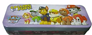 Licensed Character Tin Pencil Case ( Paw Patrol 1)