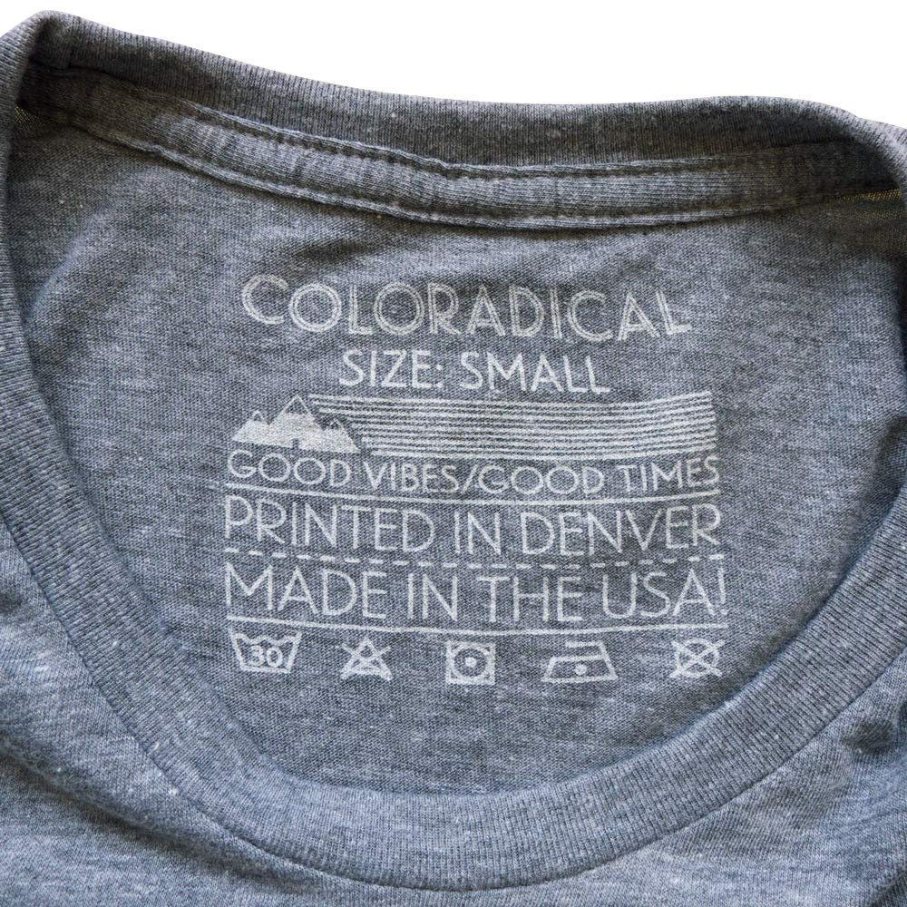Mens Coloradical Vintage Three Mountain T-Shirt