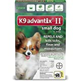 K9 Advantix II for Dogs 10 lbs and Under - 6 count